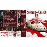 Sexta Feira 13 Coleção 12 Dvds Frete Grátis