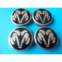 Centros De Rin Dodge Ram Emblemas Auto Camioneta