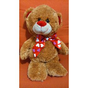 Oso Osito Peluche 37 Cm. Linzy Tipo San Valentín Como Nuevo