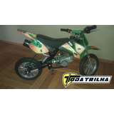 Mini Moto Cross St-db49h Aro 10 - 49cc