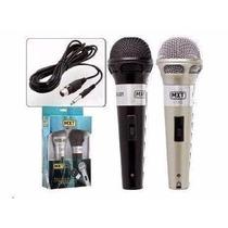 Kit Microfone Para Karaoke Mxt - Modelo - M-201 Barato