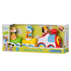 Tren Musical Baby Mickey Disney Con Luces Y Sonidos