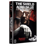 Dvd The Shield Acima Da Lei - 6ª Temporada 4 Dvds Original