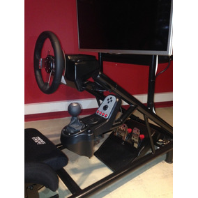 Simulador De Carrera Profesional Cockpit, Logitech G29, Tc