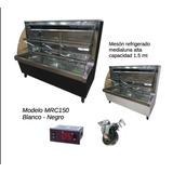 Vitrina Pastelera O Meson Refrigerado Media Luna 1.5mt