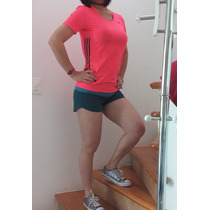 Blusa Jersey Adidas Original Dama Sexy Short Nike Original