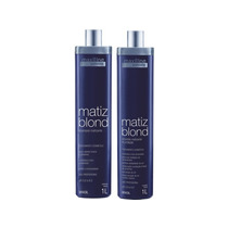 Kit Matiz Blond De 1lt Profissional Maxiline