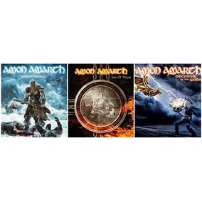 Amon Amarth - 3 Cds Lacrado (deceiver Jomsviking Fate)