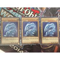 Yugioh 3x Blue Eyes White Dragon Kaiba Pose Original