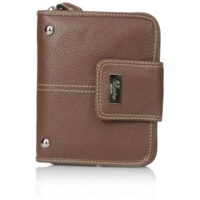 Buxton Westcott Ficha Zip Alrededor Attache (tan)