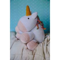 Unicornio Amigurumi / Muñecos Para Niños Tejidos Al Crochet