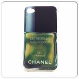 Capa Esmalte Chanel 531 Peridot Iphone 4/4s - Verde Musgo