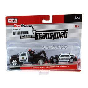Caminhão Guincho Police + Dodge Magnum R/t 2006 15055-10