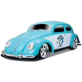 Carro De Controle Remoto Volkswagen - Fusca Verde - Maisto
