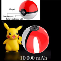 Pokemon Go Pokebola Pila Recargable Powerbank Celular Ipad