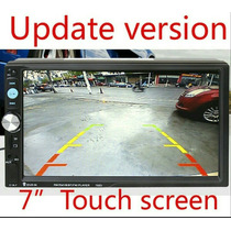 Dvd Player Automotivo Duplo Double 2din Stereo Câmera Ré