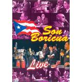 Jimmy Sabater Jose Mangual Jr Y Son Boricua Live Dvd