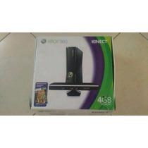 Xbox360,1 Controle,1 Kinect Hd Interno 250gb Travado +jogos