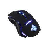 Mouse Eagle Warrior G13 Gamer Usb 2400dpi Partida Blue Light