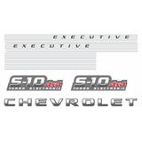 Kit Adesivos S-10 Executive 4x4 Turbo Electronic Vermelho