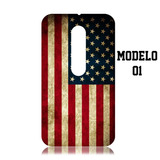Capa Case Do Estados Unidos Eua Para Moto G3 - Xt1543