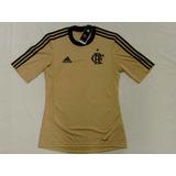 Camisa Flamengo Goleiro Dourada Oficial Adidas 2013 / 2014