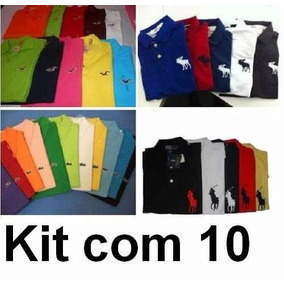 Kit 10 Camisa Polo * Frete Grátis* Atacado, Revenda