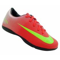 Tênis Nike Infantil Criança Futsal Futebol Campo Society Gra
