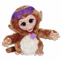Fur Real Friends Baby Cuddles My Giggly Macaco De Estimação