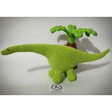 Dino Dinosaurio Tejido Artesanal Crochet Amigurumi