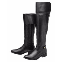 Bota Over The Knee Feminina Encinas L. Montaria Couro Leg