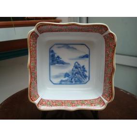 Pieza De Porcelana Japonesa Sellada