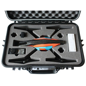 Dron Parrot A.r.drone Y Estuche Rijido Contra Agua Y Gps