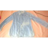 Roupa Camisa Jeans C/ Bolinhas Infantil Menino Cód - 0028