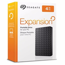Hd Externo 4tb Seagate Portatil Expansion De Bolso Lacrado