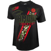 Camiseta Famous Stars & Straps Camo Crew Ufc