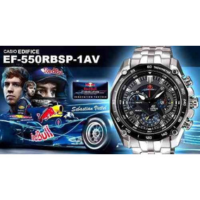 Relógio Casio Edifice Red Bull Ef-550rbsp-1av Original