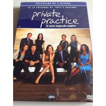 Private Practice Cuarta Temporada Dvd Nuevo Nacional