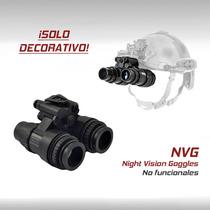 Lentes Vision Nocturna Nvg Casco Tactico Militar Airsoft