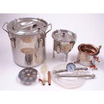 Caldera Destiladora De Agua Y Alcohol Capacidad 30 Litros