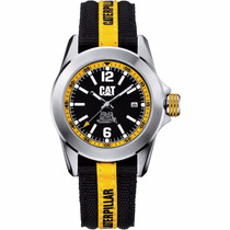 Cat Watches Big Twist Acero Nylon Depor Ya14163134 Diego Vez
