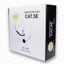 Cable Utp Cat 5e Cobre Red Balun Cctv Glc 100 Metros100 Mts