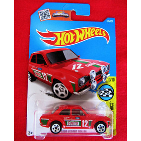 Miniatura Ford Escort Rs1600 Hot Wheels Showdown