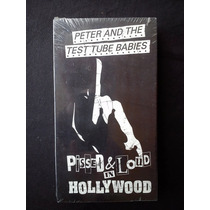 Peter And The Test Tube Babies - Pissed & Loud Vhs (novo)
