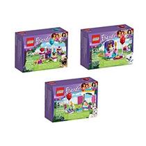 Juguete Lego Amigos Fiesta Bundle 3 Series Tortas Del Parti