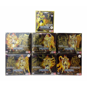 Saint Cloth Myth Ex Saint Seiya Soul Of Gold Pack 7 Figuras