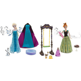 Disney Bonecas Frozen Ferver De Luxe Gif Set - Cantam