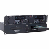 American Audio Usd-200 Mkii Reproductor Doble De Cd Usb