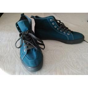 Zapato Calzado Deportivo/gomas Tipo Botines Para Hombre