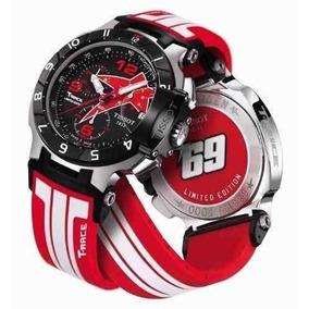 Relogio Tissot T-race Moto Vermelho 6655988 Gp Nicky Hayden